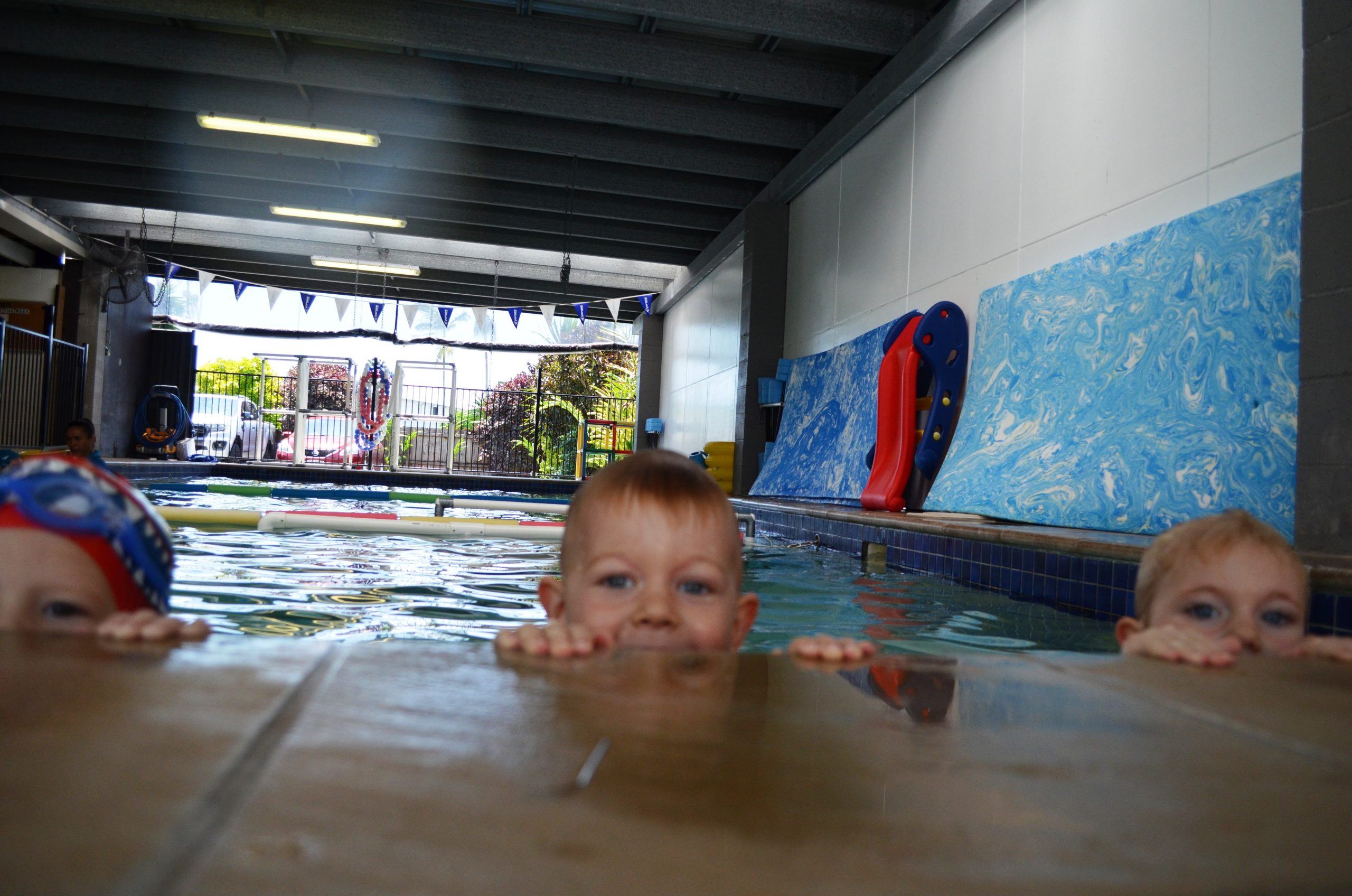 young swimming children lessons